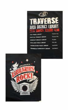 The 2018 Libraries Rock! Shirt