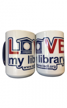 Love My Library Mug